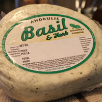 Basil Farmers Cheese