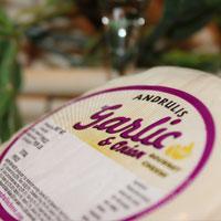 Garlic and Onion Farmers Cheese