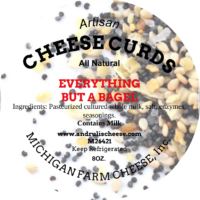 Everything but the Bagel Cheese Curds