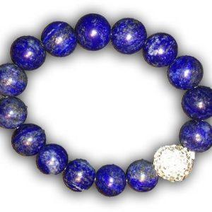 EMF Harmonizing Bracelet Lapis Lazuli - Blue - Quantum EMF Protectors