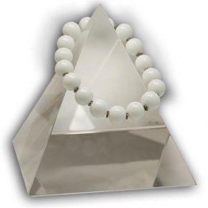 135 New Product - EMF Harmonizing Bracelet White Coral - Quantum EMF Protectors