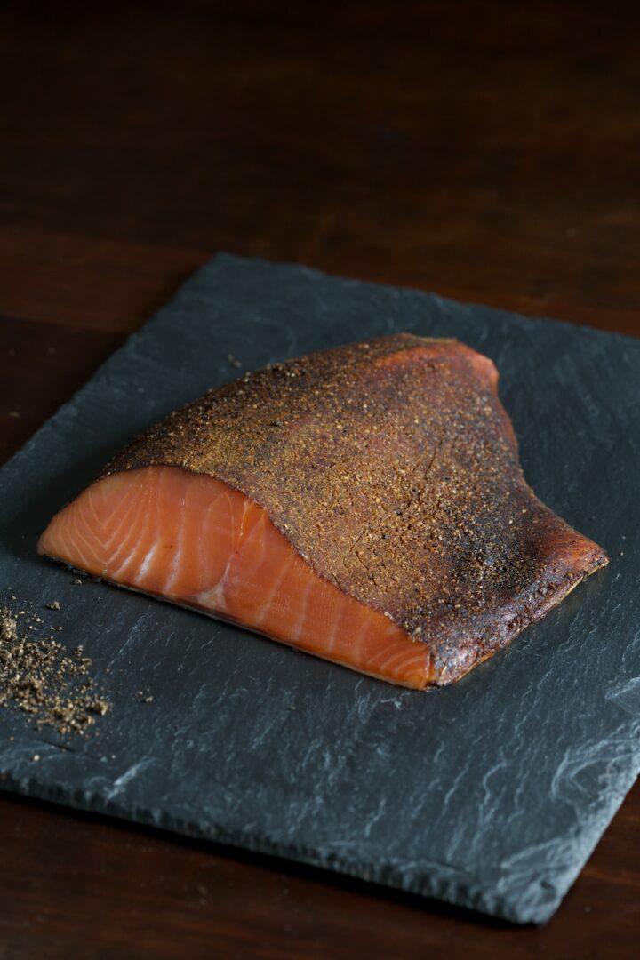 3. pastrami smoked salmon