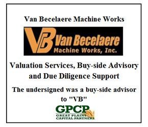 VAN BECELAERE MACHINE WORKS,INC.