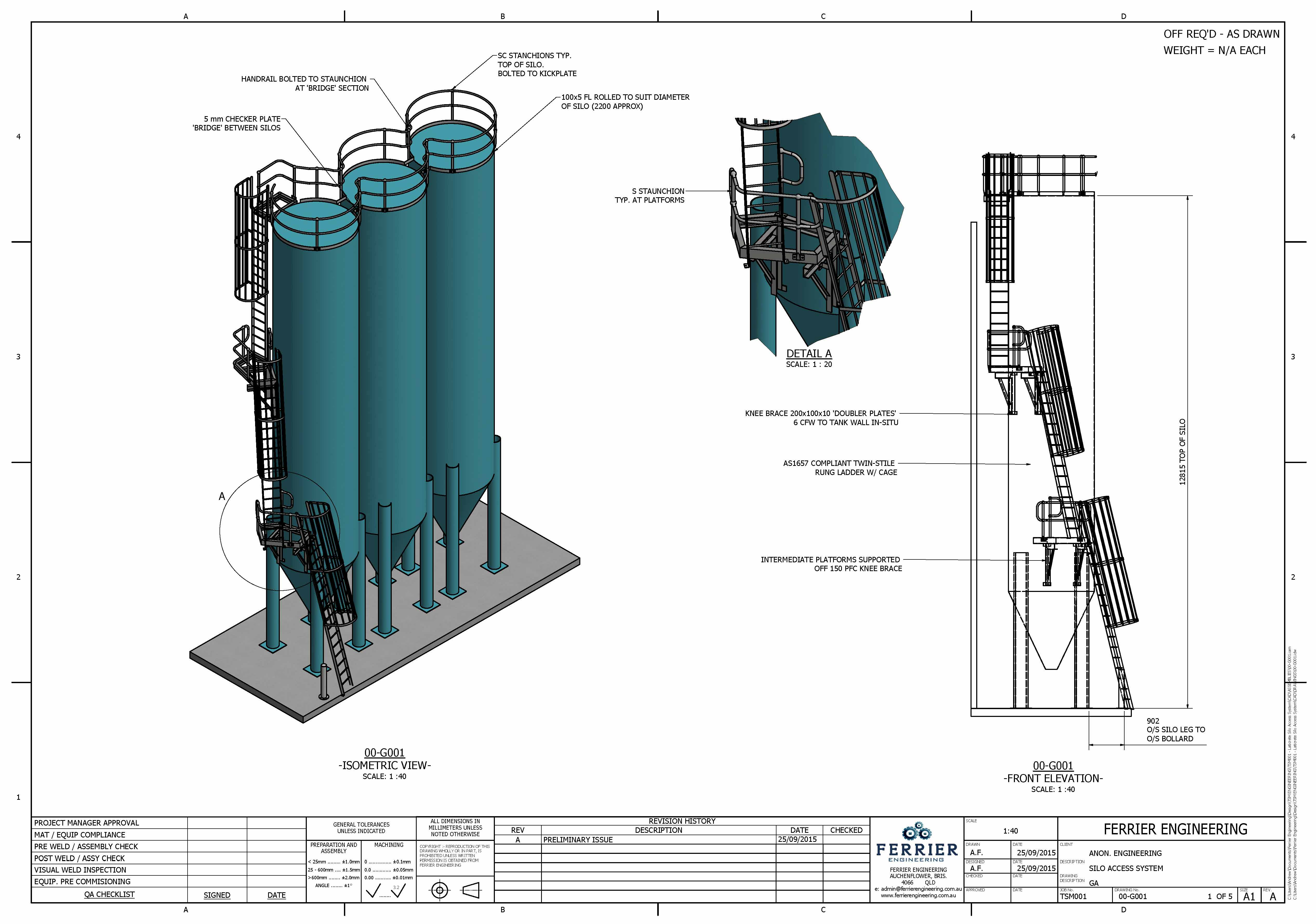 Silo Access System Proposal