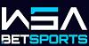 SISTEMA DE BANCAS WSA ESPORTES Logo