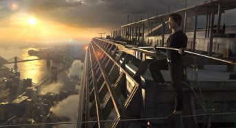 """""""The Walk"""" in 3D — 90 Minutes of Routine Drama, Then Pow!"""