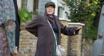 """Dame Maggie Smith Channels Her Inner Bag Lady in Alan Bennett's """"The Lady in the Van"""""""
