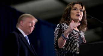 Did the GOP Clown Car Just Get Even Clownier?  Or Can Sarah Palin Actually Help Trump Win Iowa?