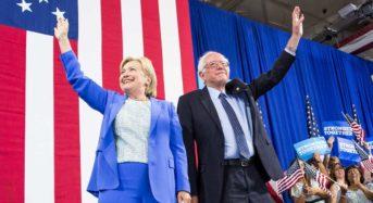 Hillary & Bernie — At Long Last Love