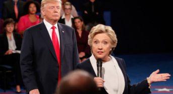 Presidential Debate #2 — Clinton Talks While Trump Stalks in the Weirdest Debate Yet
