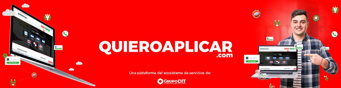 Bolsa de empleo Quieroaplicar.com de Grupo DIT