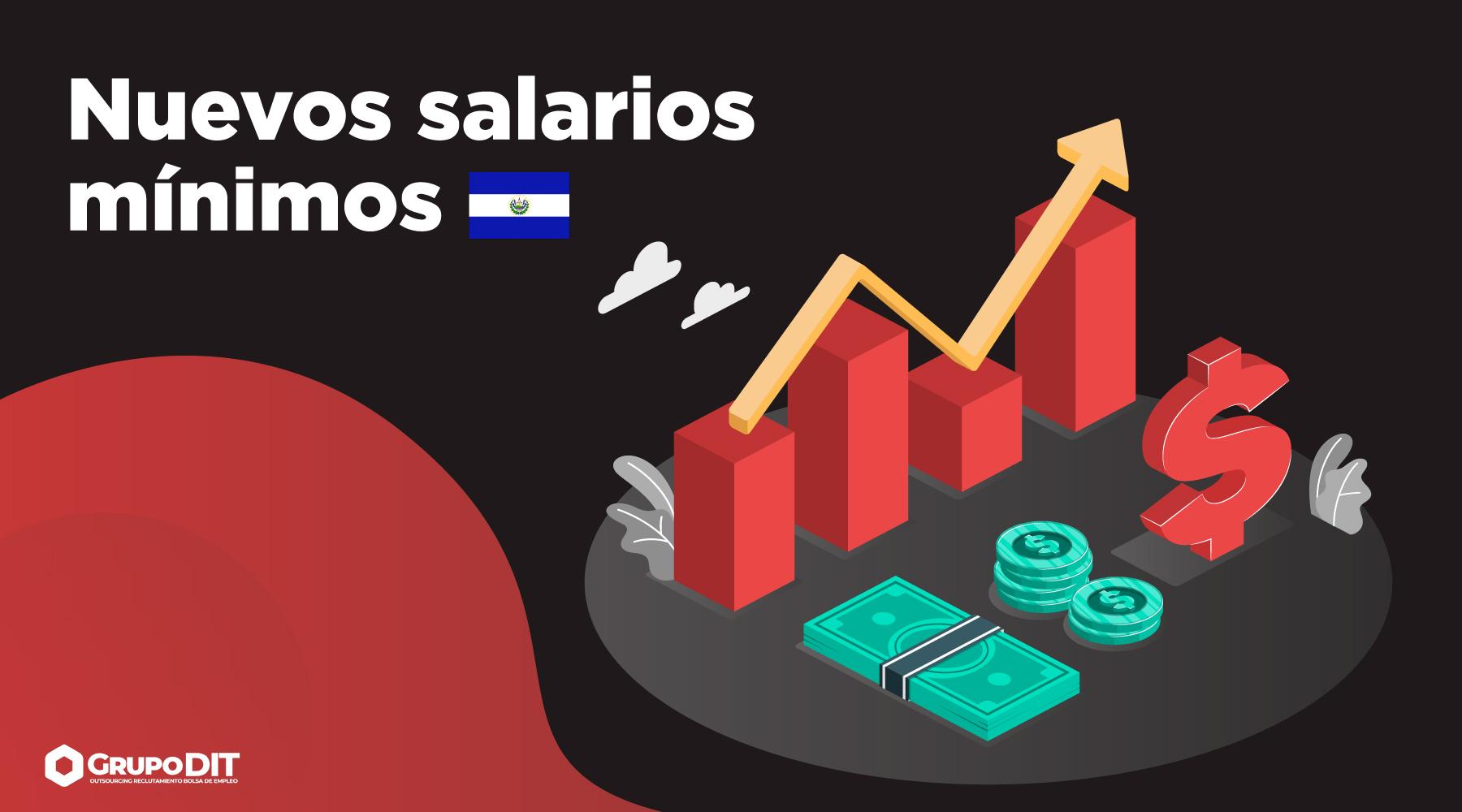 Nuevos salarios mínimos en El Salvador 2021 por Grupo DIT