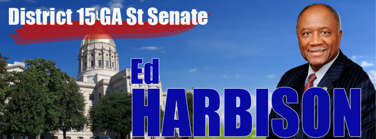Senator Ed Harbison – Georgia State Senator for the 15th District