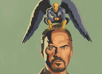 Birdman Poster Movie Spoon