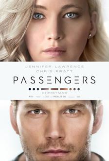Chris Pratt Jennifer Lawrence Passengers Trailer Poster MovieSpoon.com