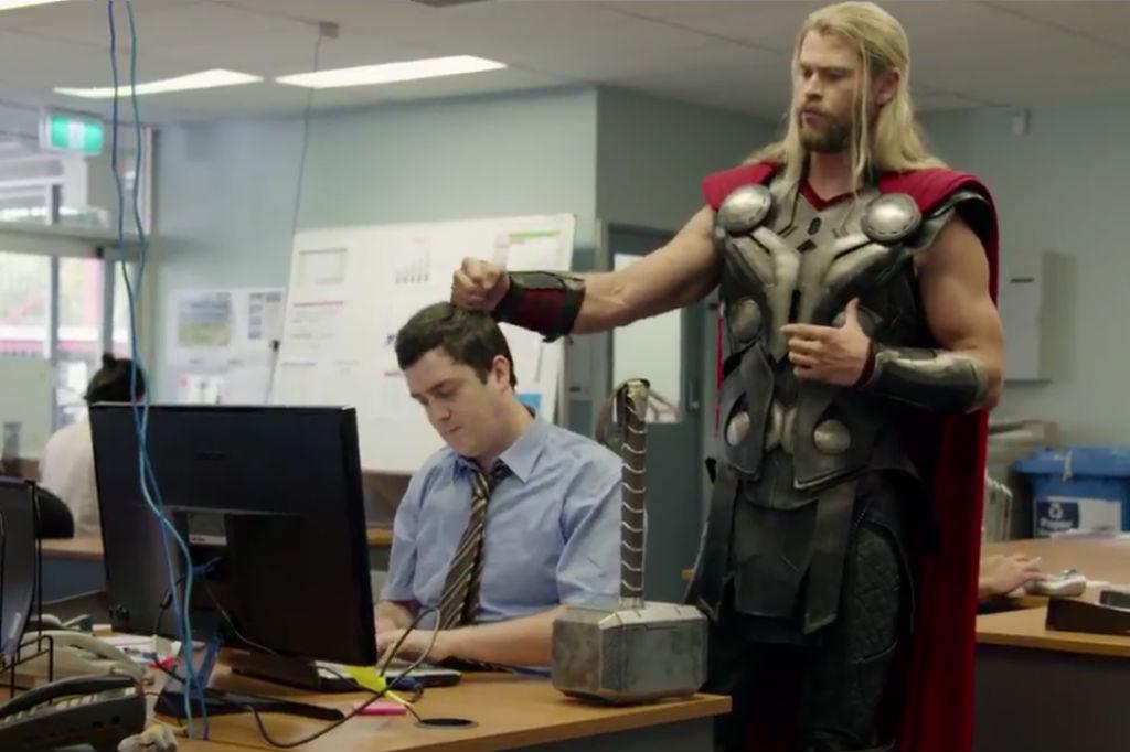 Thor Ragnarok Darryl MovieSpoon.com