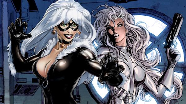 Silver Sable Black Cat Sony Spider-Man MovieSpoon.com