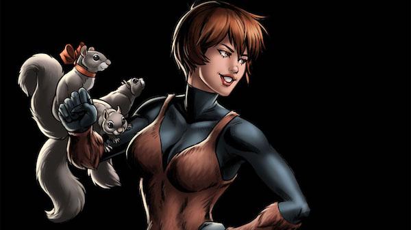Squirrel Girl MovieSpoon.com Marvel Comics