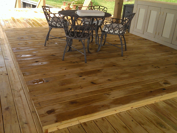 Decks on Lake Cypress Springs