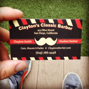The  New Biz Cards Are Here!