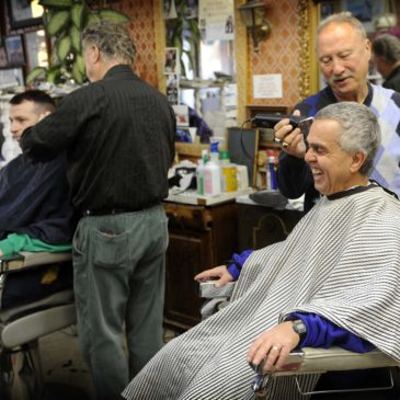 """Benefit of Having a Barber:  """"To Be Touched and to Connect."""""""