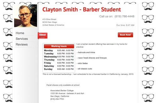 Clayton_Smith_-_Barber_Student