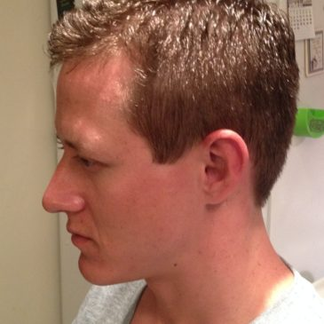 A New Style ( and First Barber Cut!) For Shawn
