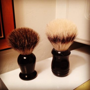 Shave Brush Basics from Shaving101.com