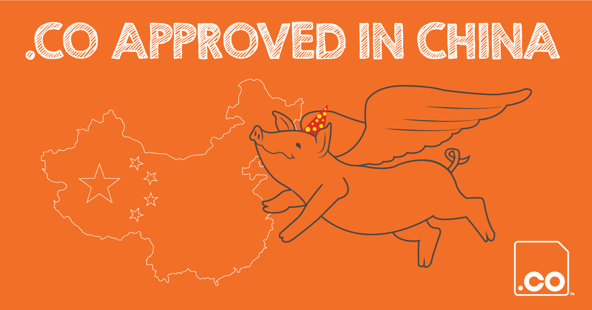 .CO Approved in China!