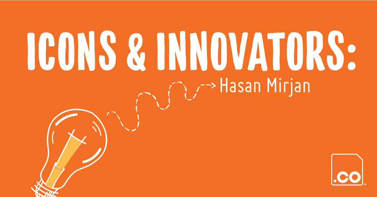 SPHEREMAIL.CO | Icons & Innovators Hasan Mirjan