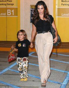 kardashians wearing duke of london cheetah pants