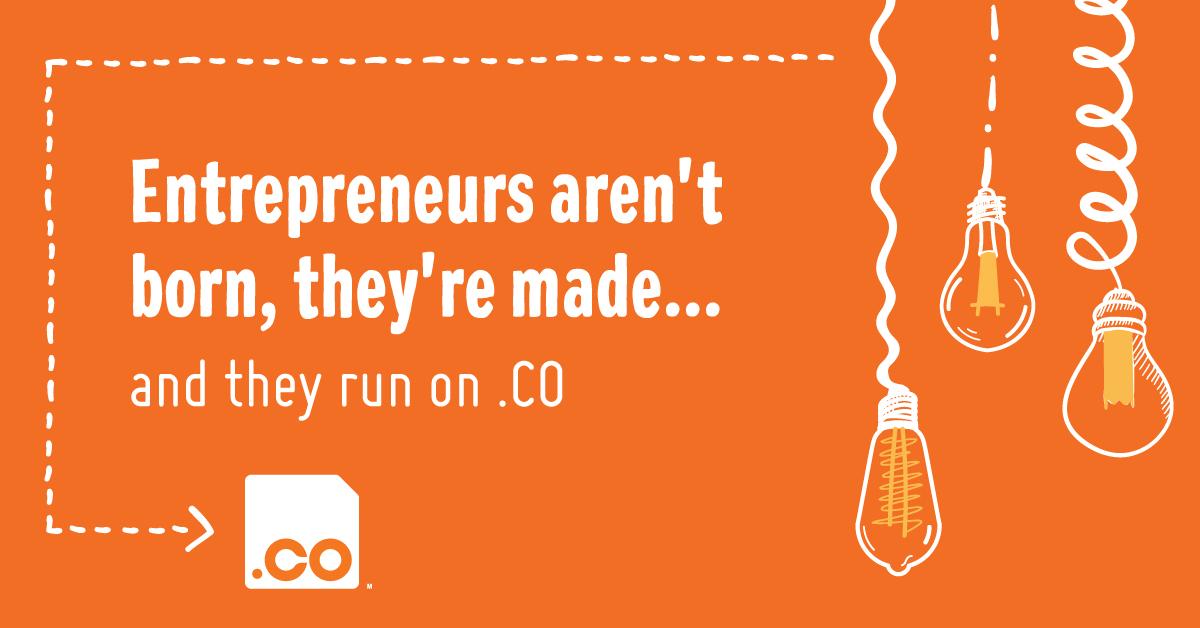 Why .CO Celebrates Entrepreneurship