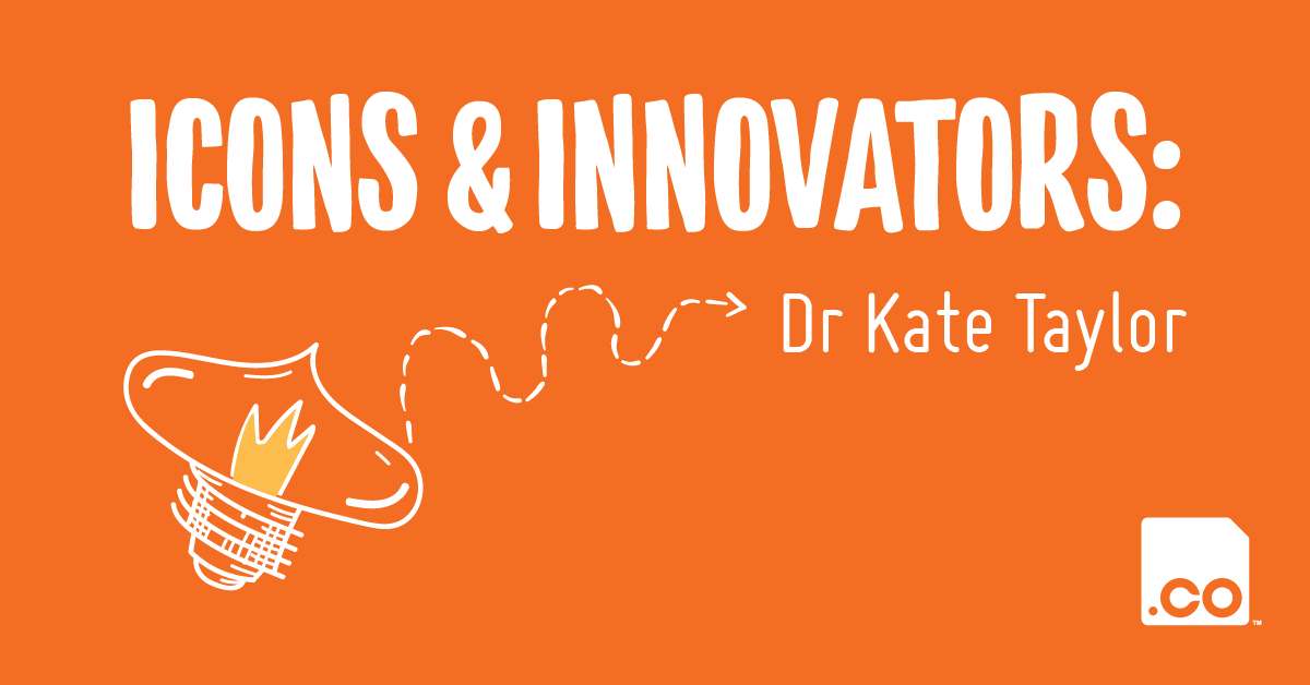 OCULO.CO   Icons & Innovators: Dr Kate Taylor