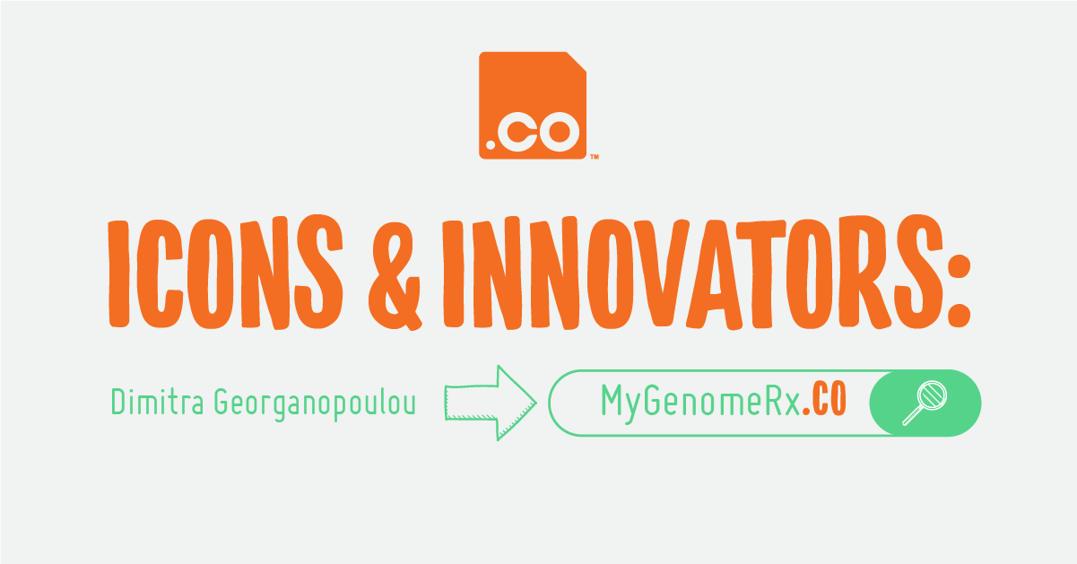 MyGenomeRx.CO | Icons & Innovators: Dimitra Georganopoulou