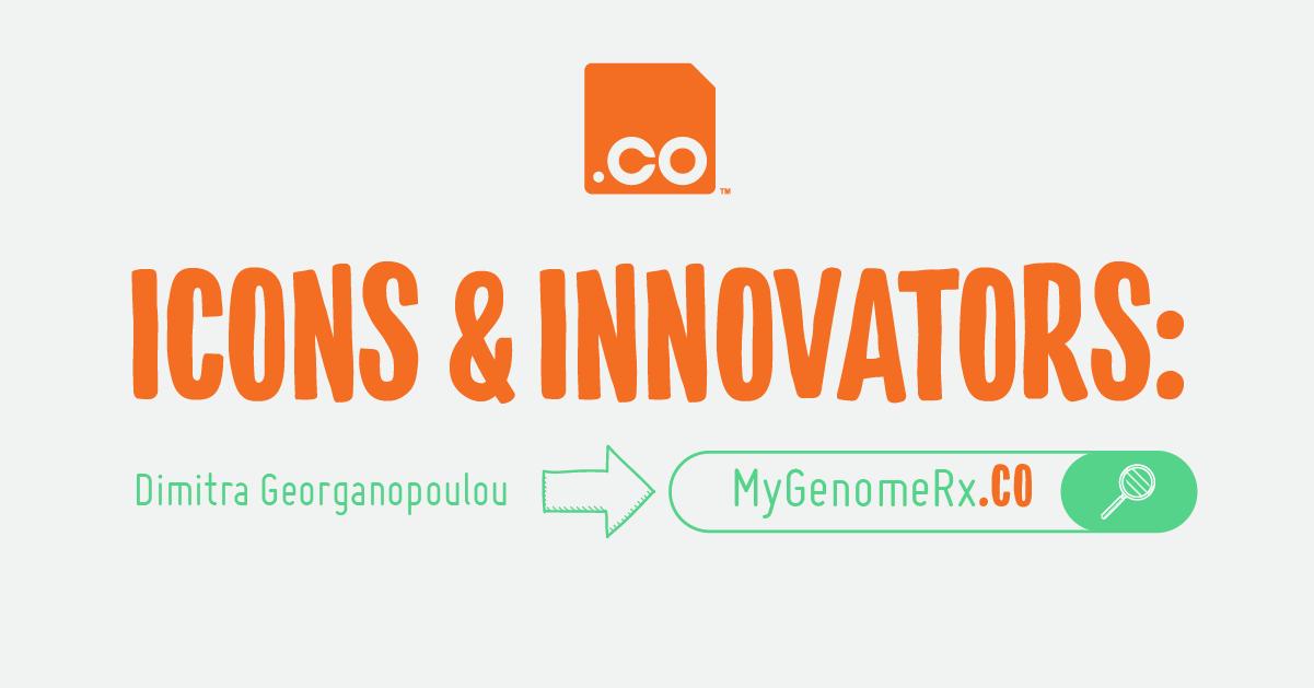 MyGenomeRx.CO   Icons & Innovators: Dimitra Georganopoulou