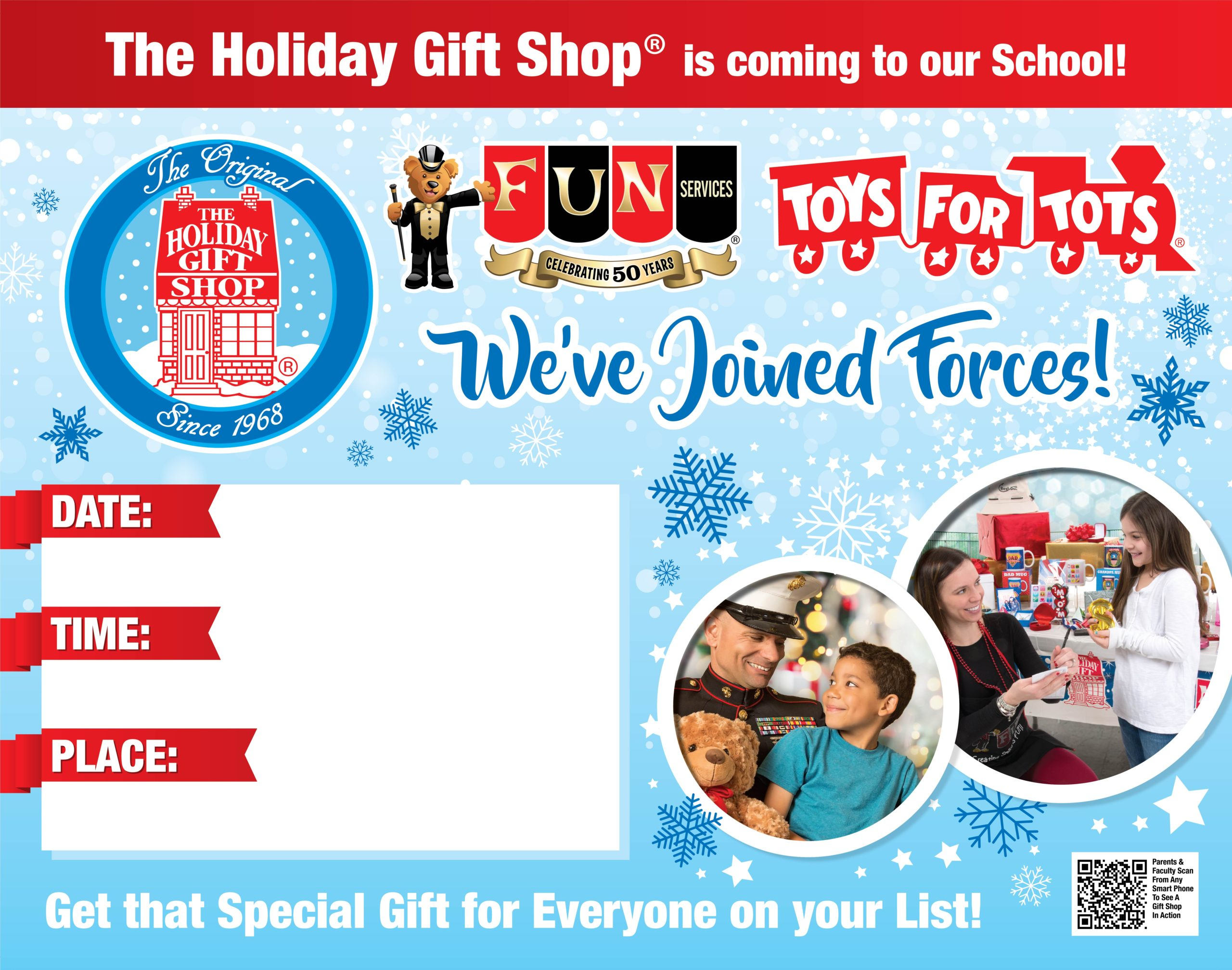 Holiday Gift Shop Poster with _TFT