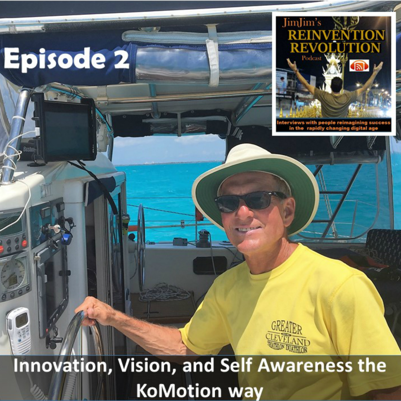 JJRR Ep2 Innovation, Vision and Self Awareness the KoMotion way