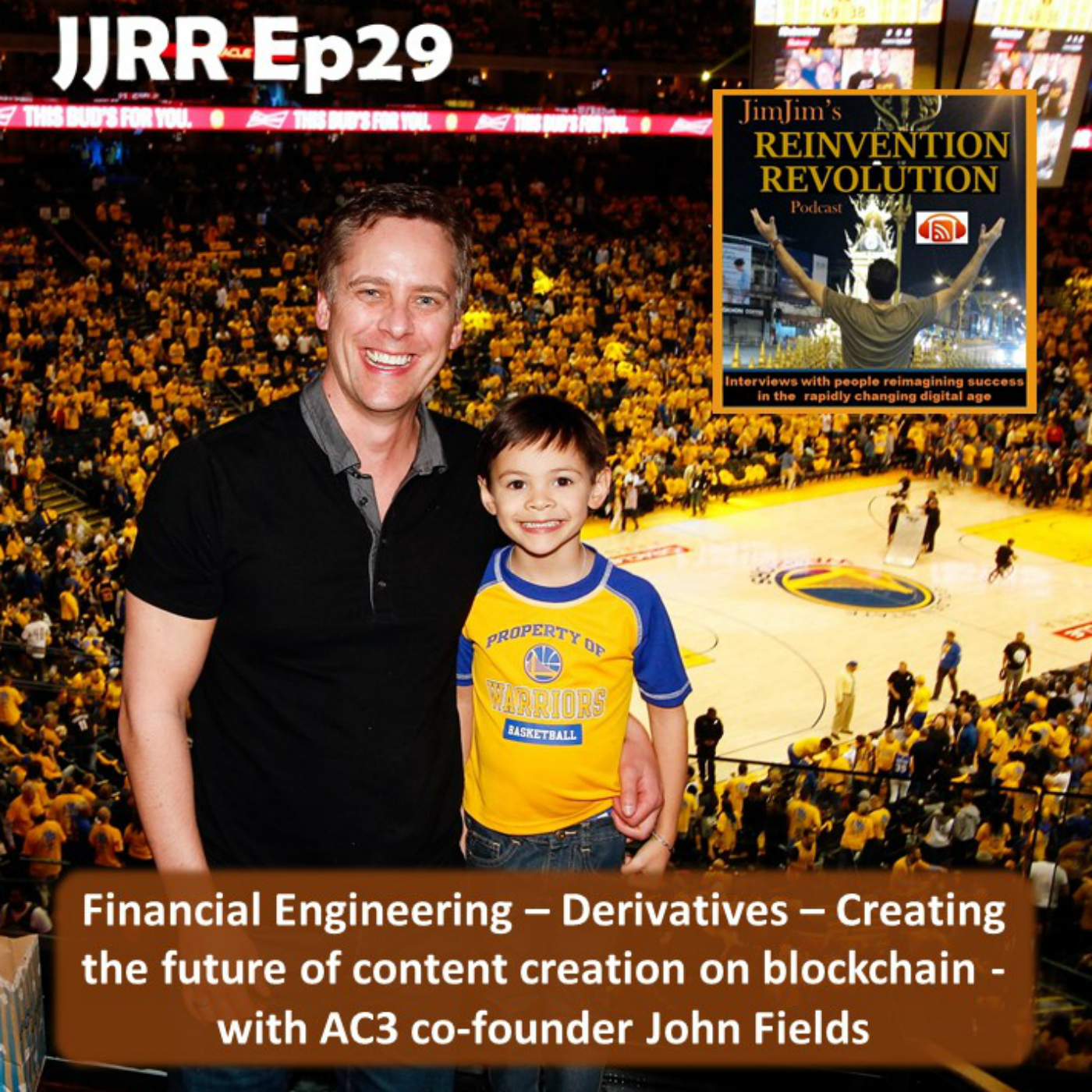 JJRR Ep29 Financial Engineering – Derivatives – Creating the future of content creation on blockchain – with AC3 co-founder John Fields