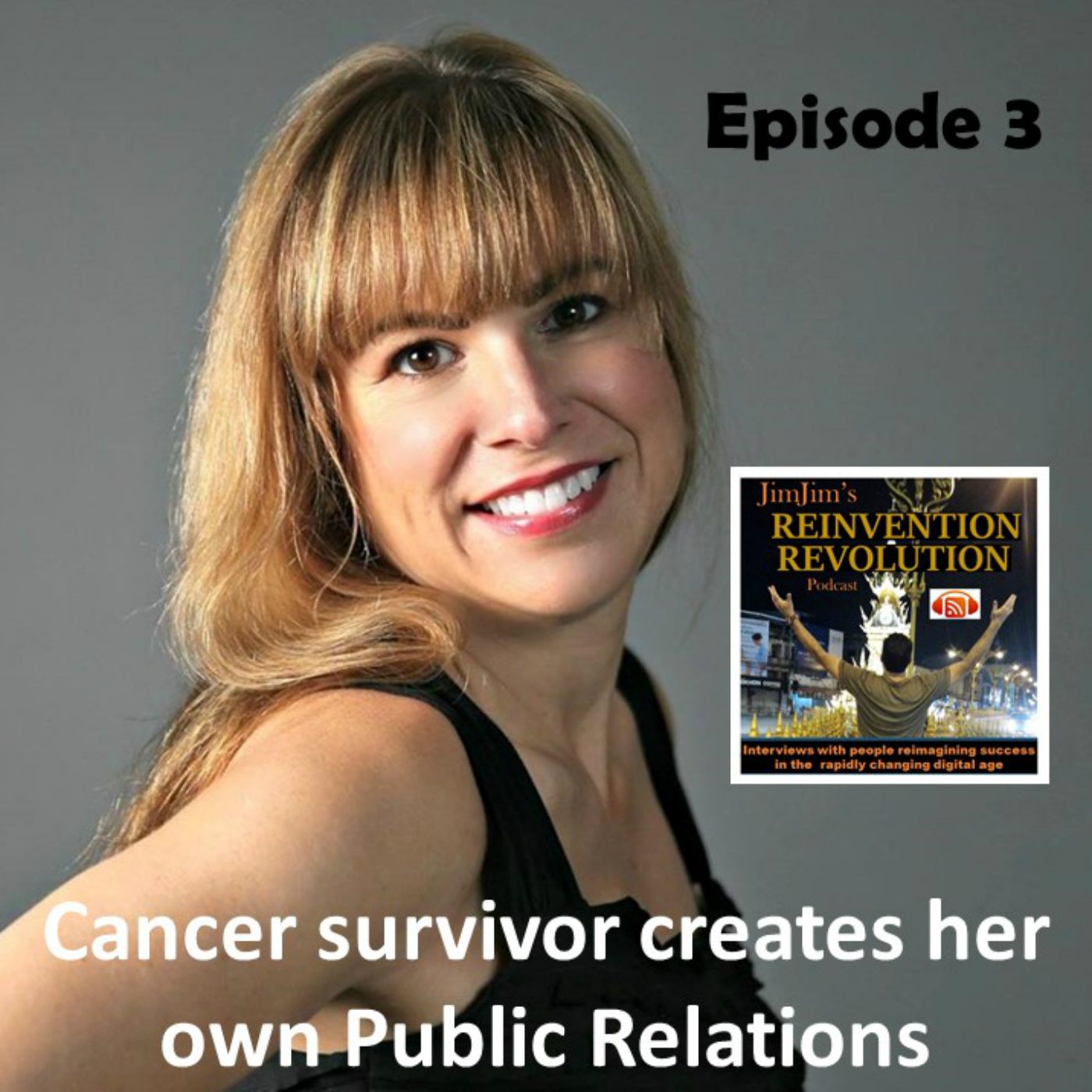 Read more about the article JJRR Ep3 Cancer survivor makes her own Public Relations with Stacey Vaselaney