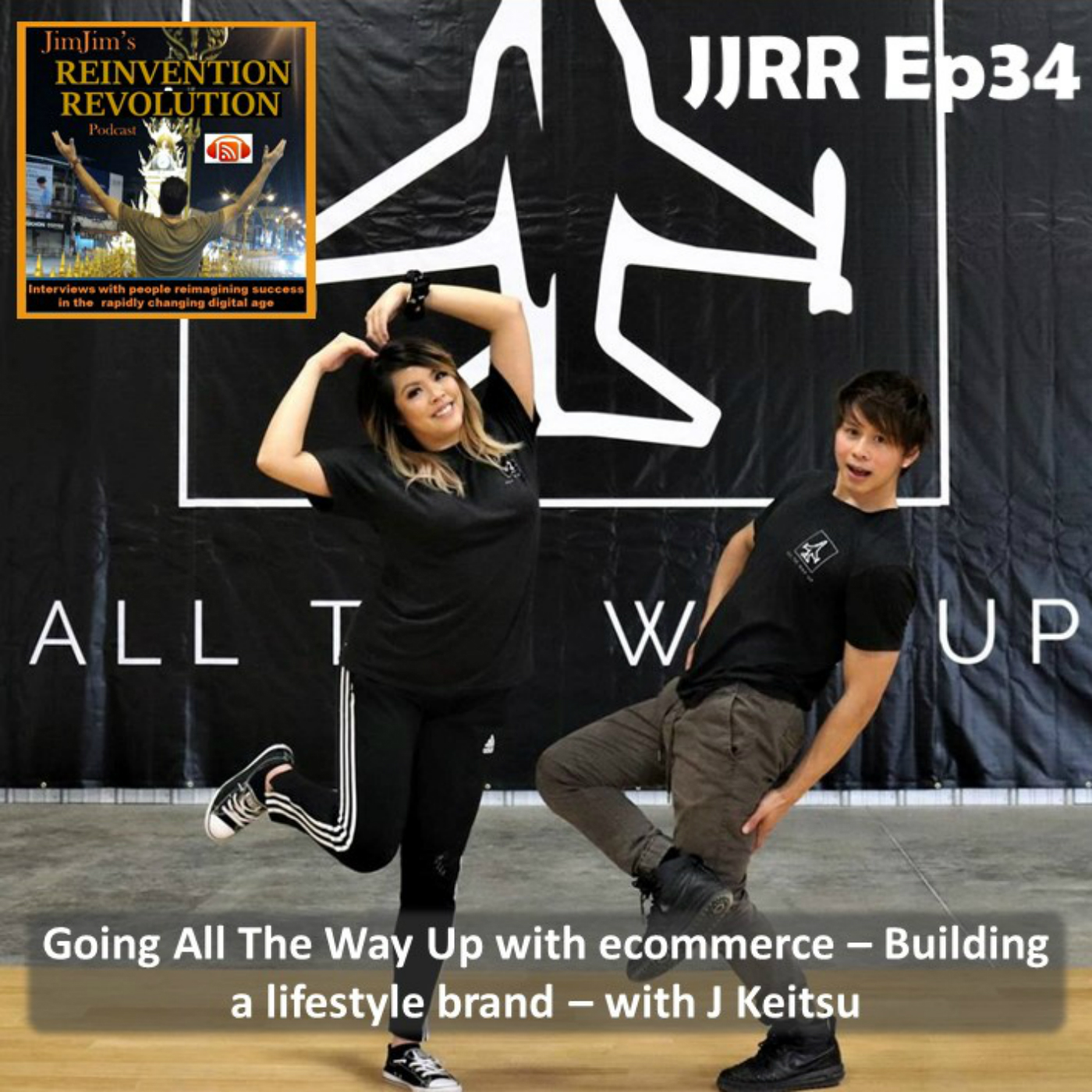 Read more about the article JJRR Ep34 Going All The Way Up with ecommerce – Building a lifestyle brand – with J Keitsu