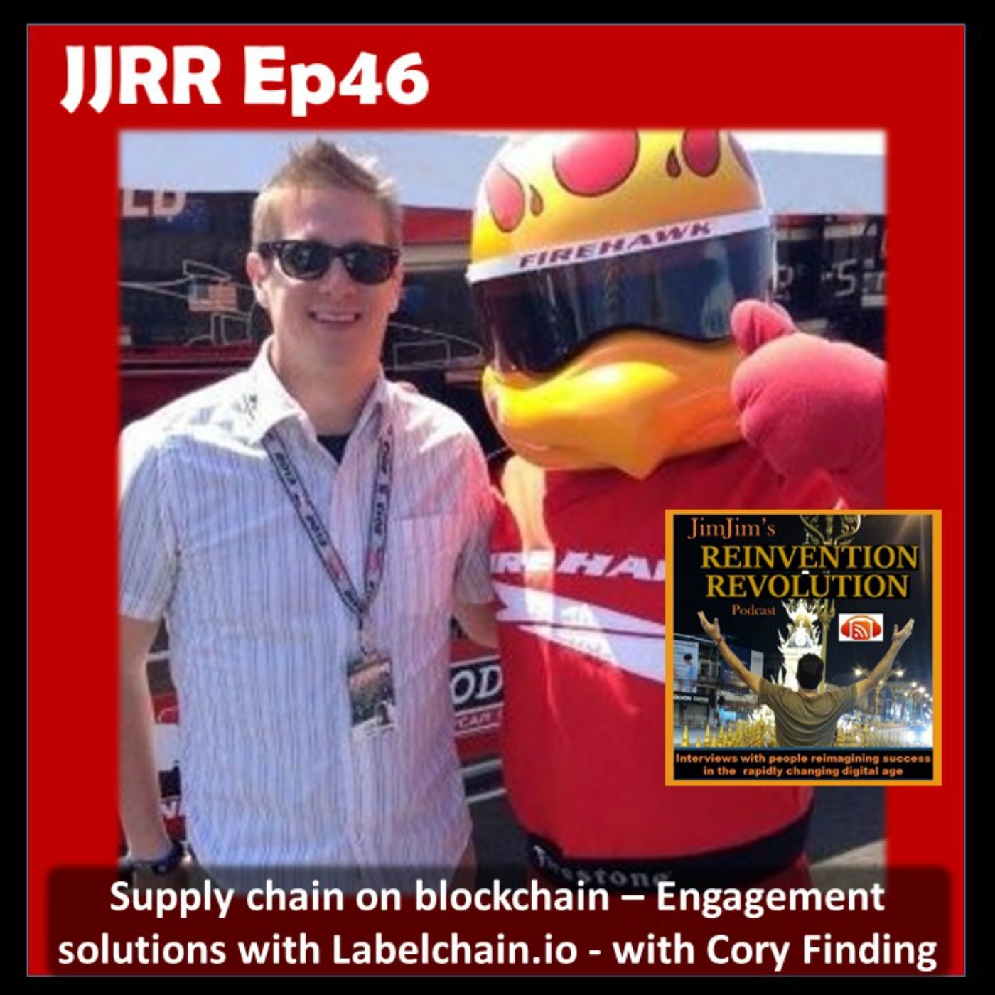 JJRR Ep46 Supply chain on blockchain – Engagement solutions with Labelchain.io – with Cory Finding