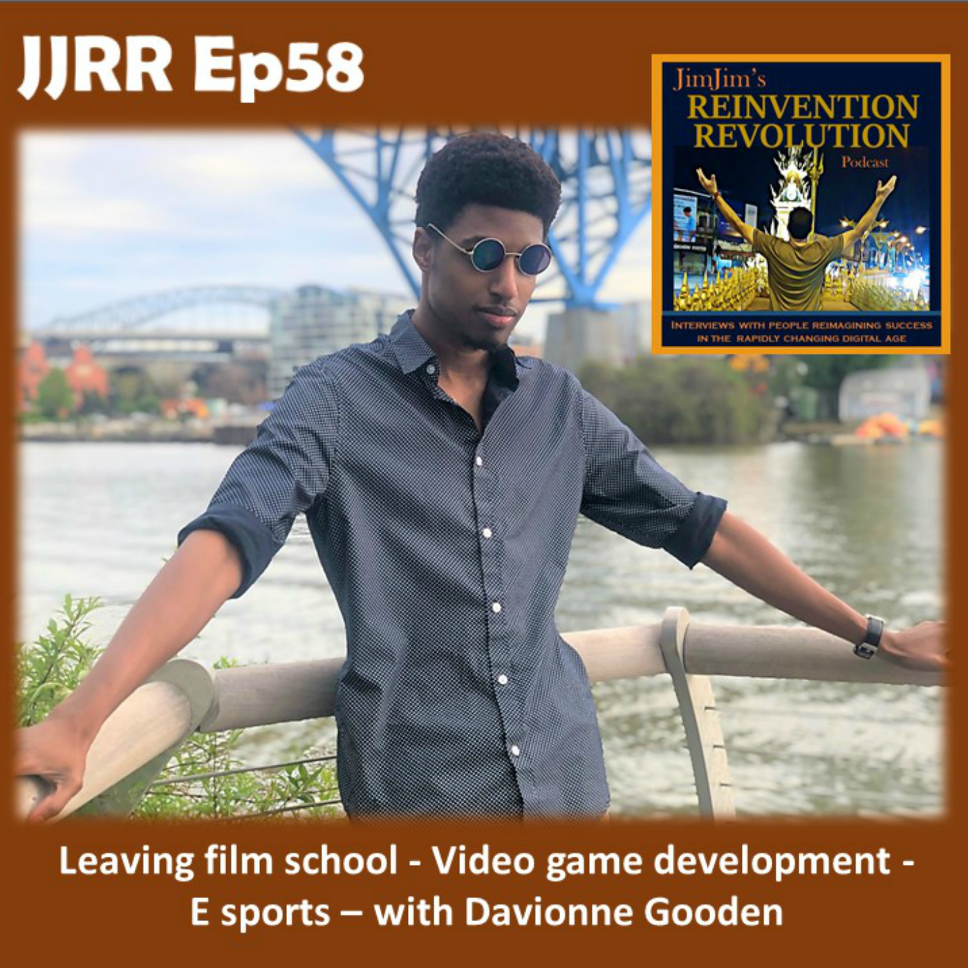 Read more about the article JJRR 58 Leaving film school – Video game development – E sports – with Davionne Gooden