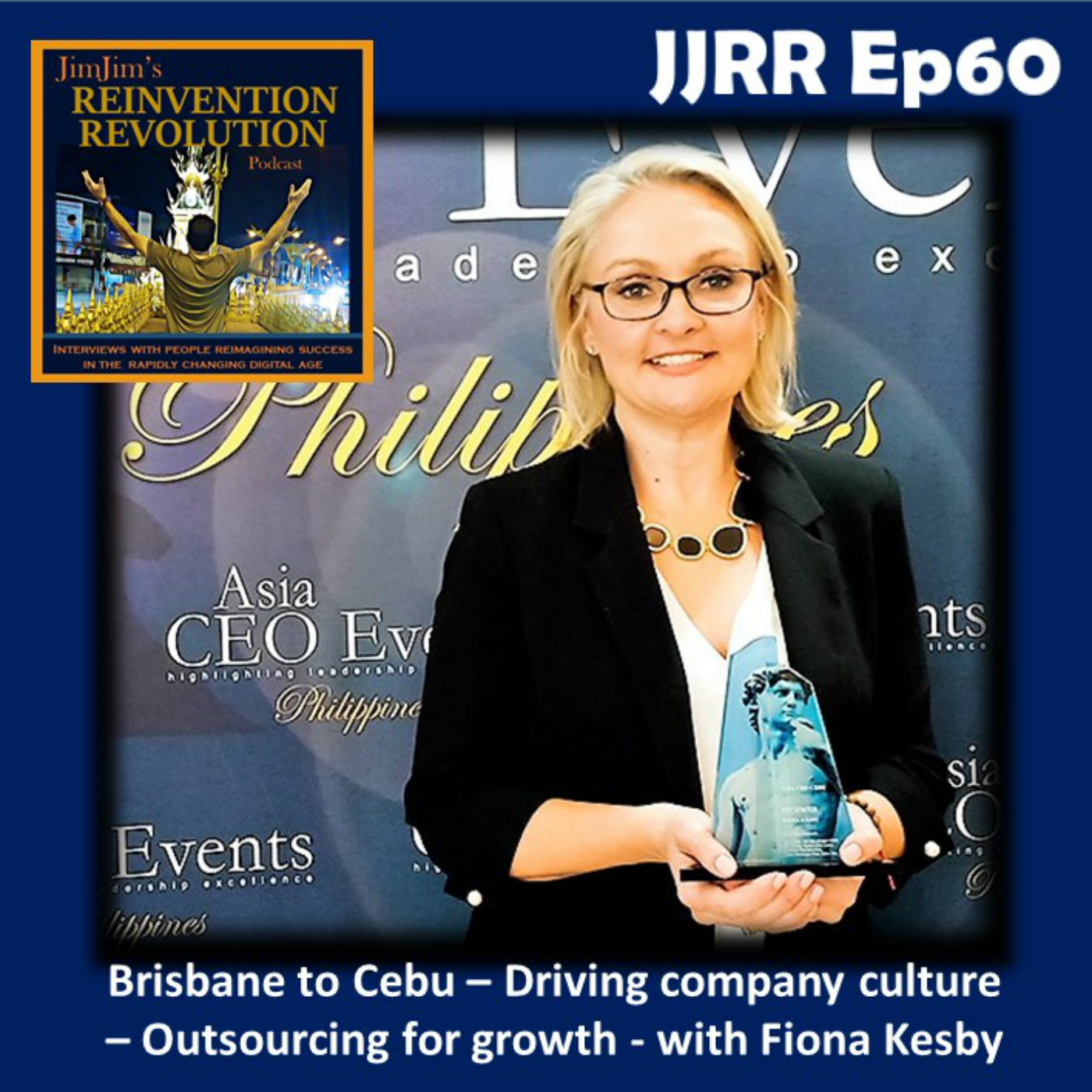 JJRR 60 Brisbane to Cebu – Driving company culture – Outsourcing for growth