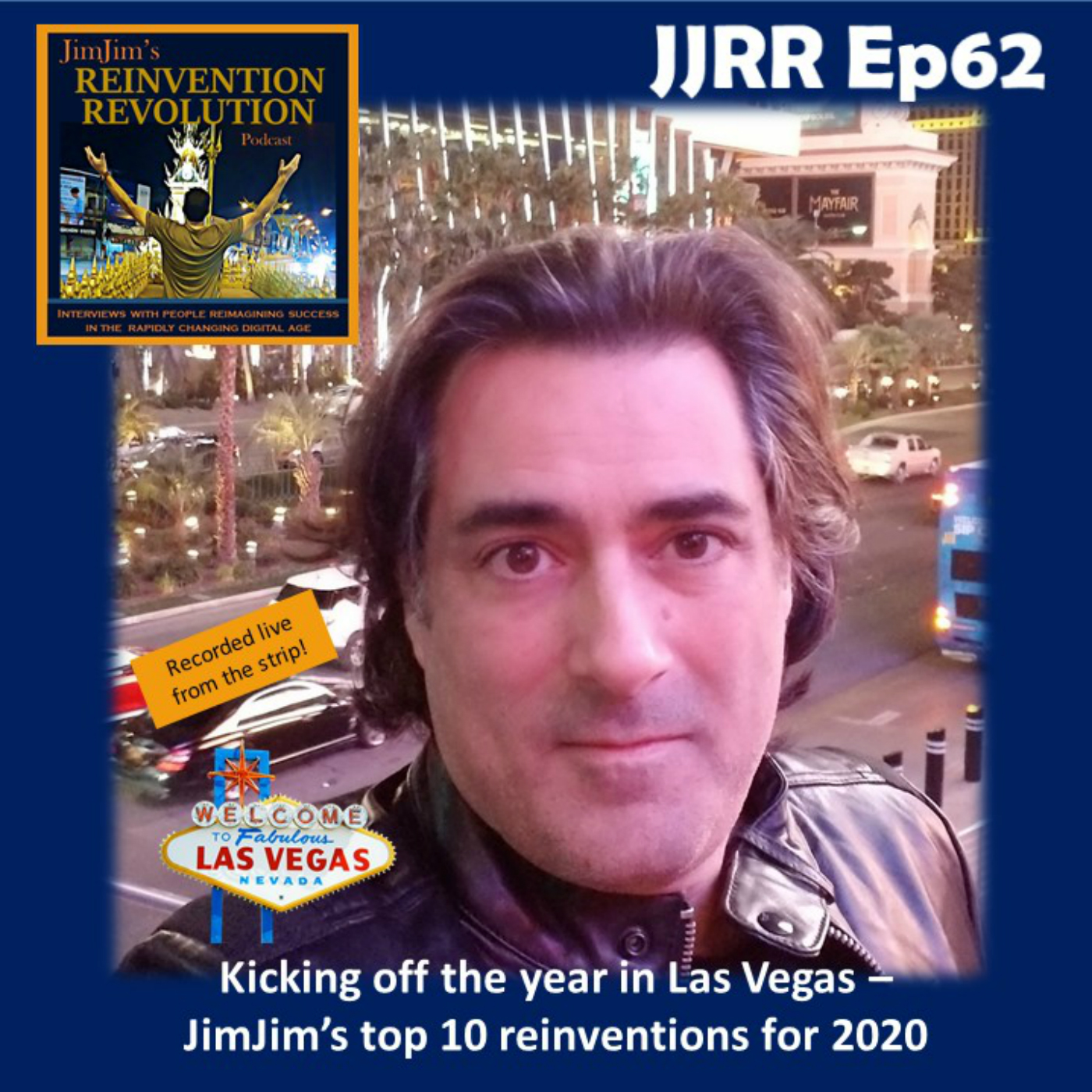 Read more about the article JJRR 62 Kicking the year off in Las Vegas – JimJim's top 10 reinventions for 2020