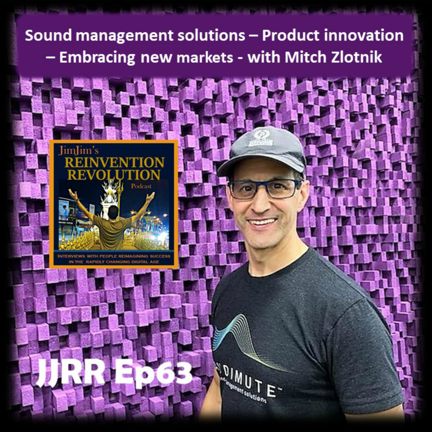 Read more about the article JJRR 63 Sound management solutions – Product innovation – Embracing new markets – with Mitch Zlotnik