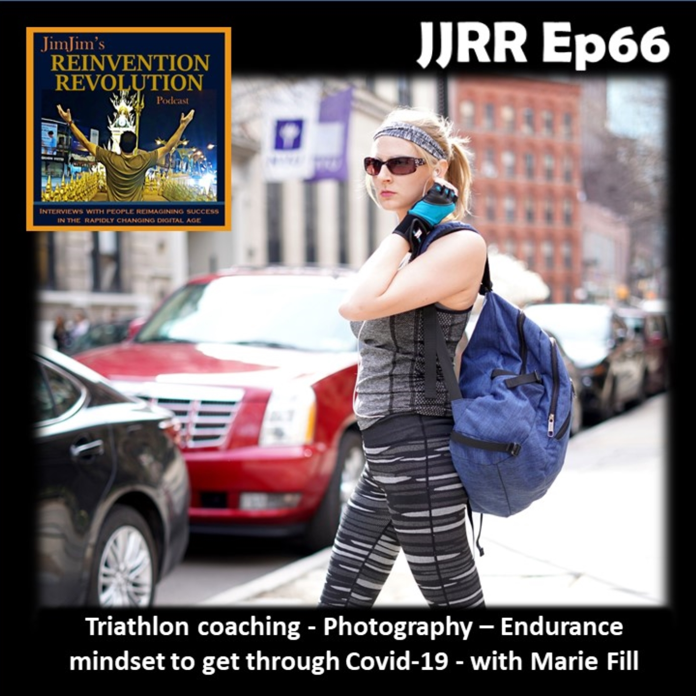 JJRR 66 Triathlon coaching – Photography – Endurance mindset to get through Covid-19 – with Marie Fill