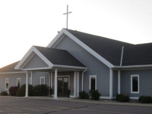 Current church building