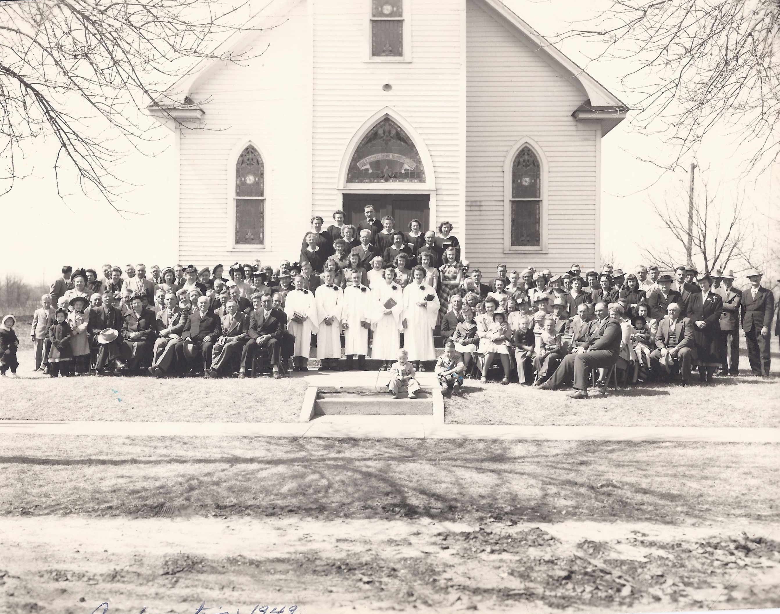 Congregation in 1942