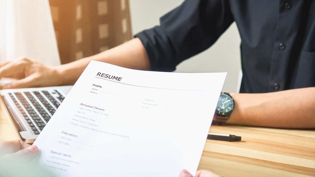 top 5 mistakes the job applicants