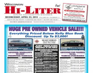 Wisconsin Hi-Liter 4/23/14
